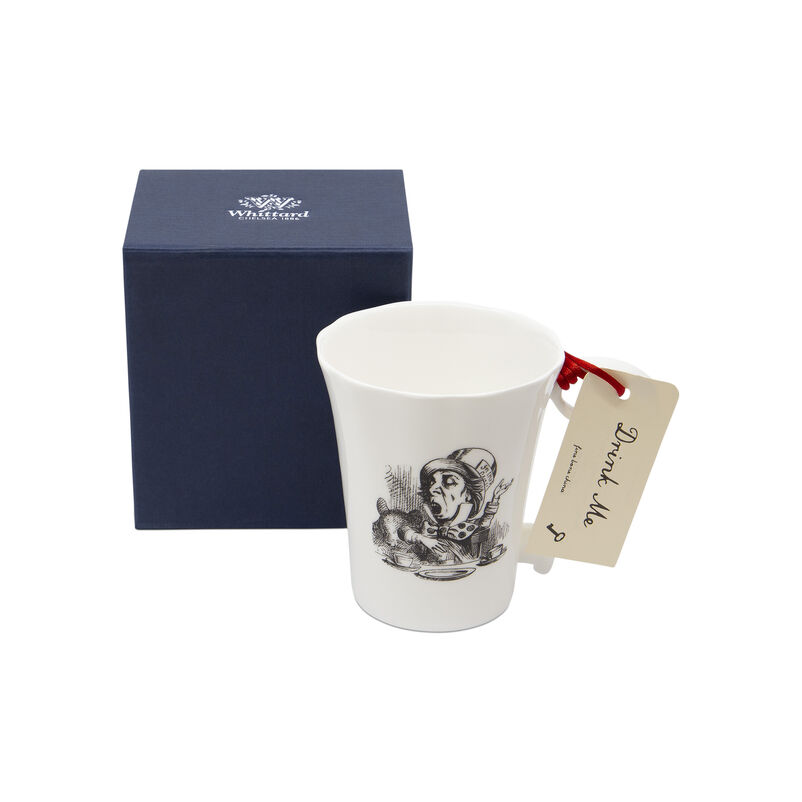 Alice in Wonderland Mad Hatter Mug with Key Handle
