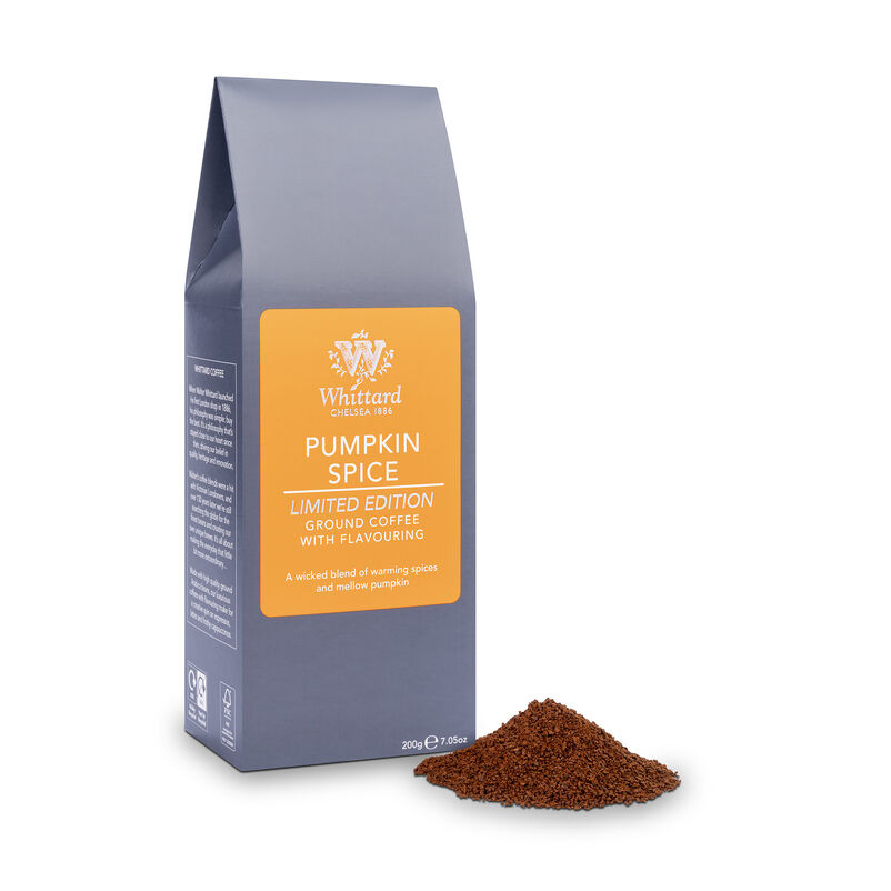 Limited Edition Pumpkin Spice Flavour Ground Coffee