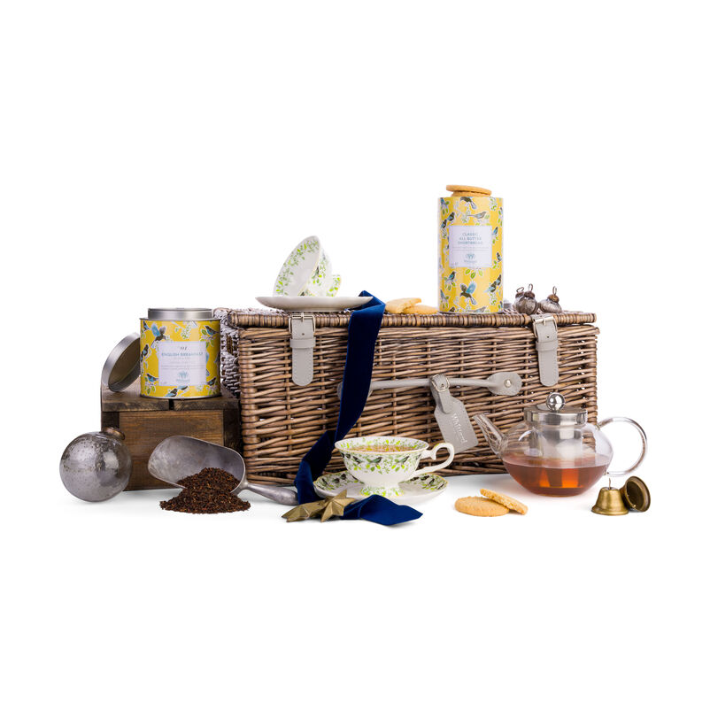 The English Breakfast Afternoon Tea for Two in Christmas styling