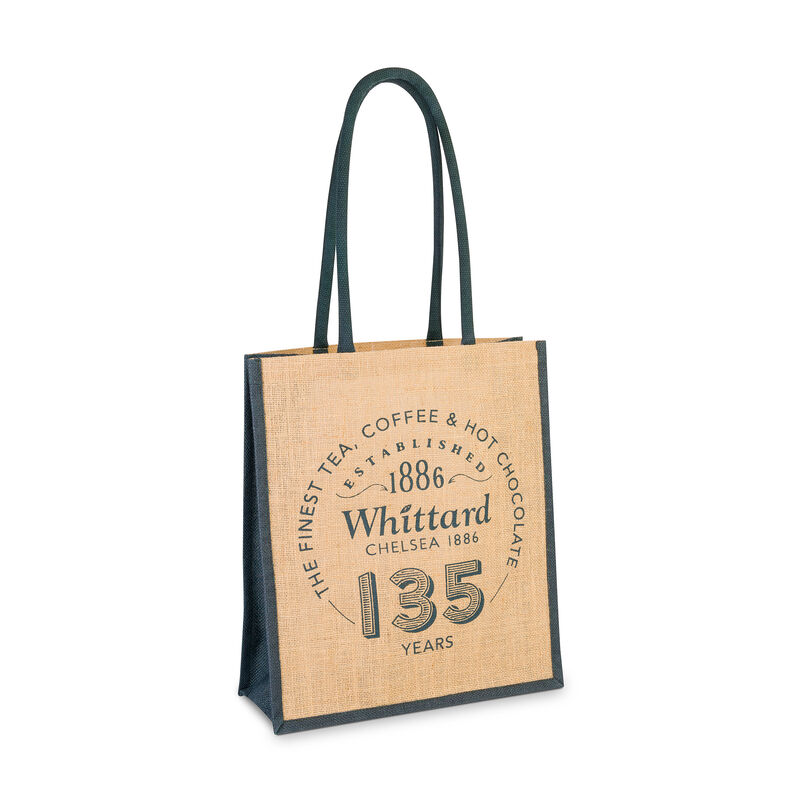 Limited Edition 135 Year Anniversary Jute Shopping Bag