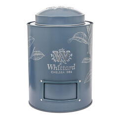 Large Blue Tea Caddy