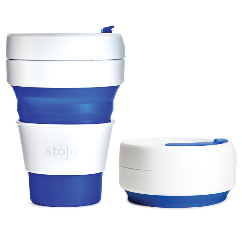 Stojo Blue Collapsible Cup