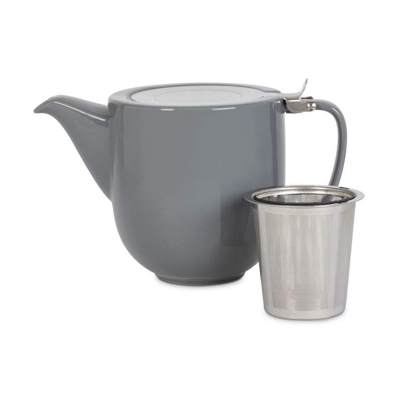 Grey Fenxiang Teapot with Infuser