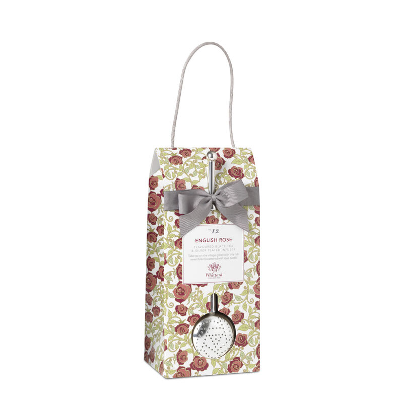 Tea Discoveries English Rose Pouch & Infuser