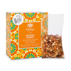 Mango Sorbet Iced Teabags with large teabag