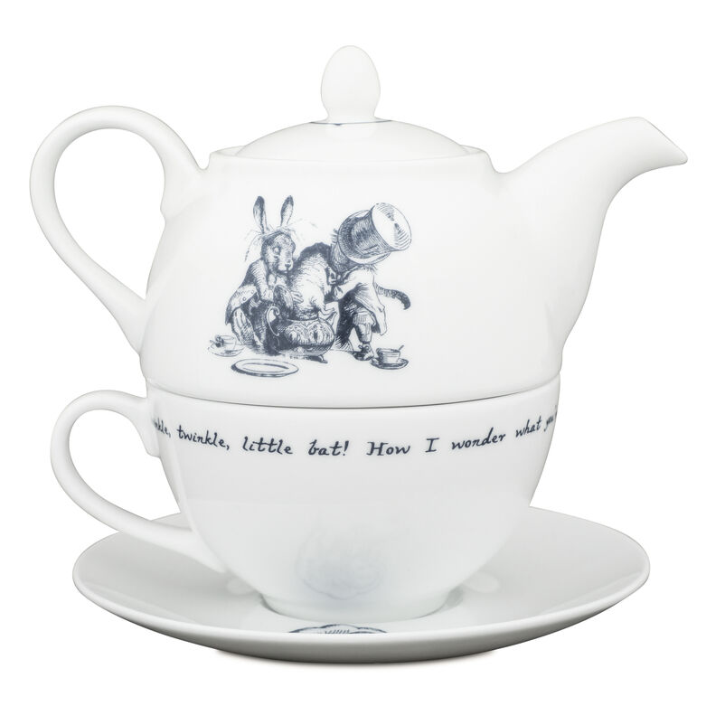 Alice in Wonderland Tea-for-One
