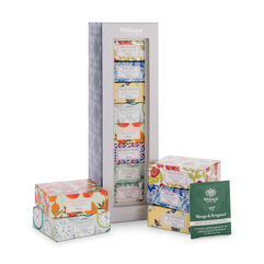 Taste of Tea with tea boxes outside of the gift