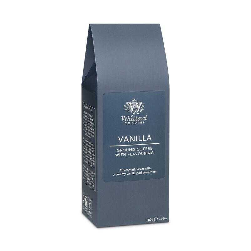 Vanilla Flavour Ground Coffee