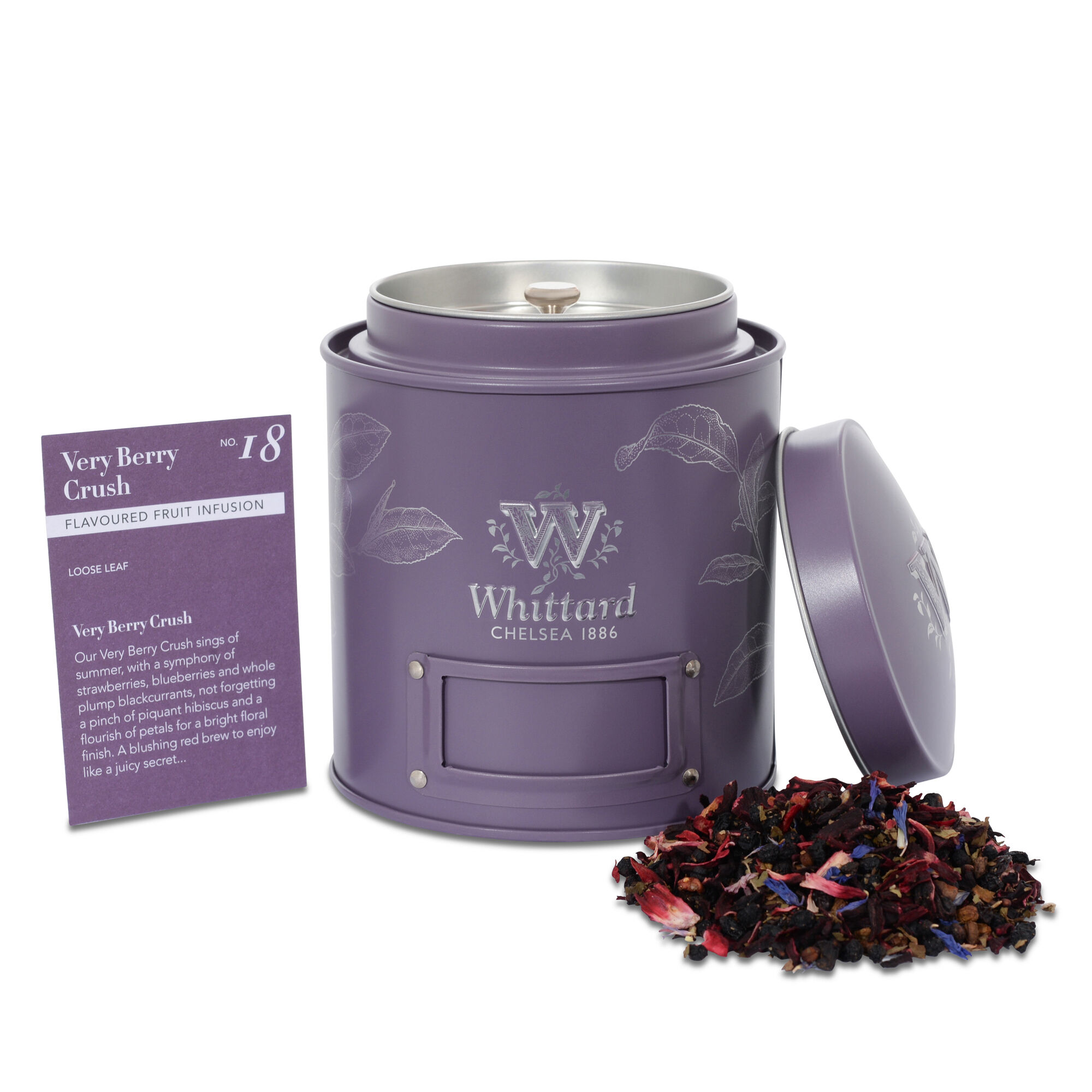 Very Berry Crush Fruit And Herbal Tea Whittard Of Chelsea