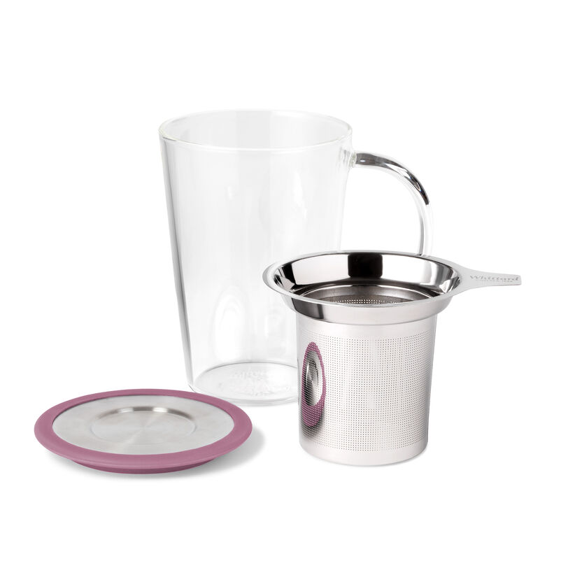 Berry Glass Pao Infuser Mug