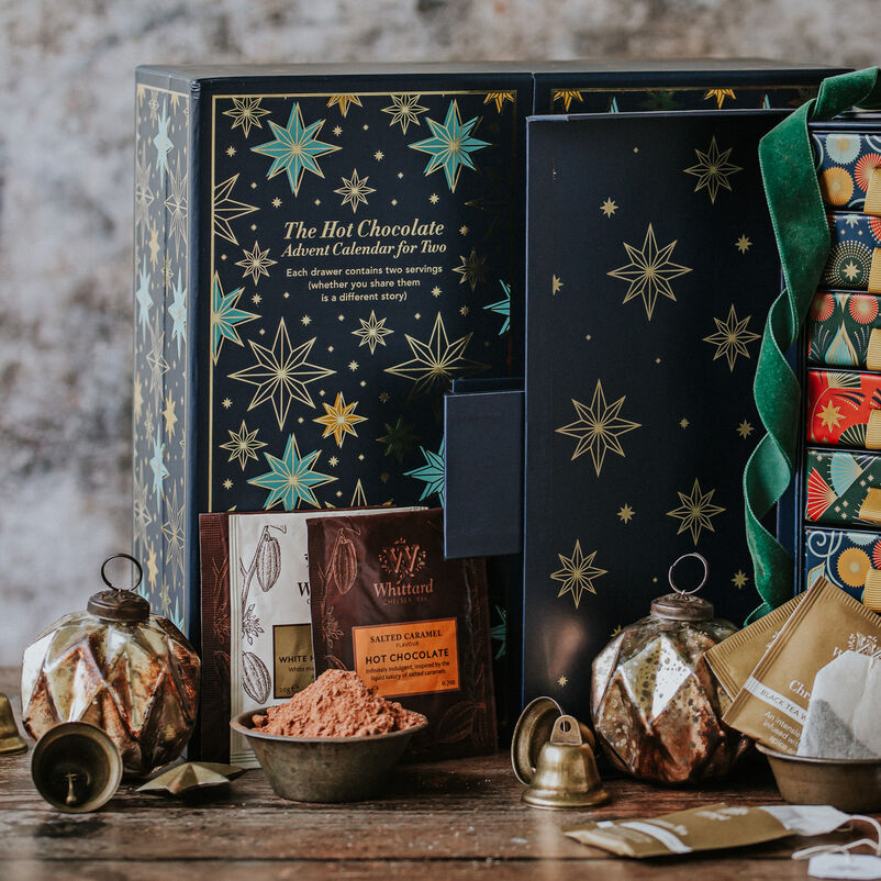 The Hot Chocolate Advent Calendar for Two close up