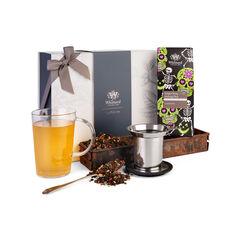 Ginger Snap Oolong Gift Box, loose tea, pao, loose tea mug, halloween gift