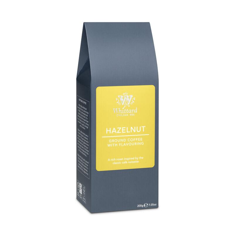 Hazelnut flavoured Whittard ground coffee