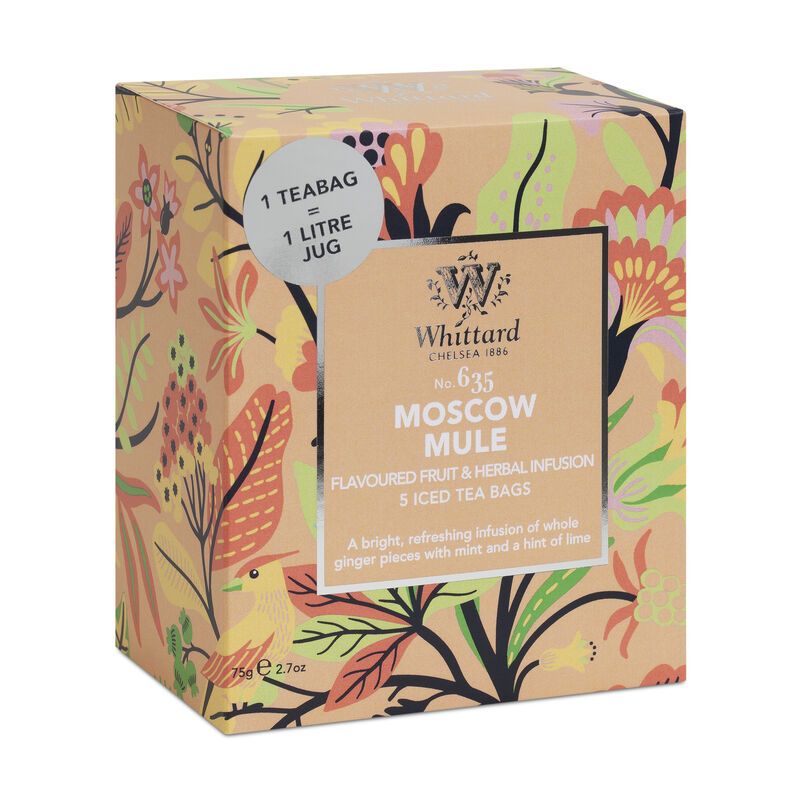 Moscow Mule Ice Teabags