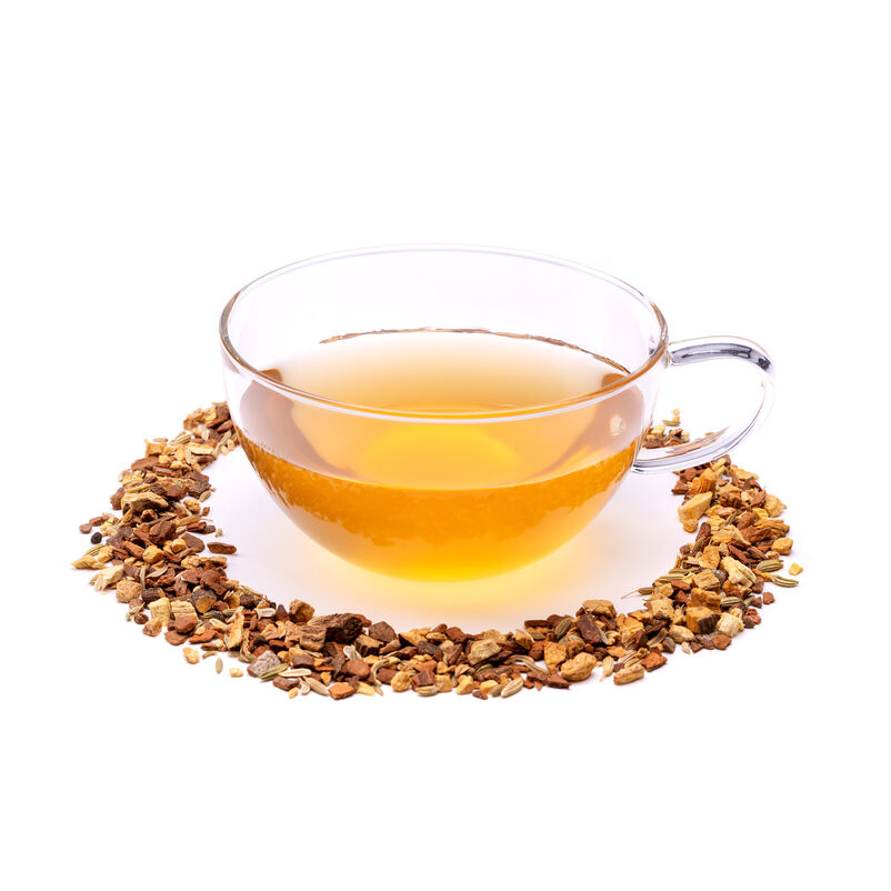 Cinnamon & Vanilla Chai Loose Infusion in a Teacup