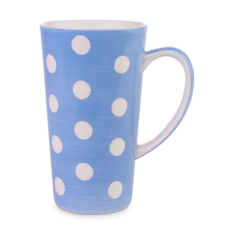 Florence Cornflower Blue Latte Mug