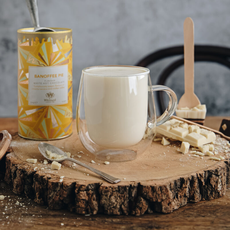 Limited Edition Banoffee Pie Flavour White Hot Chocolate