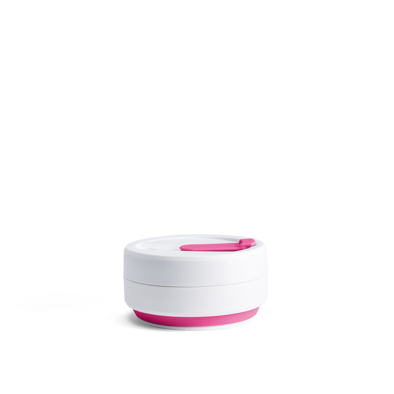 Stojo Pink Collapsible Cup