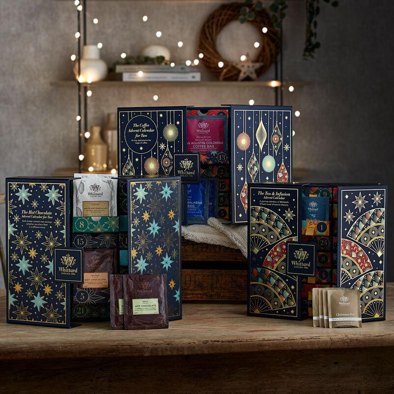 Trio of Tea, Coffee and Hot Chocolate Advent Calendars
