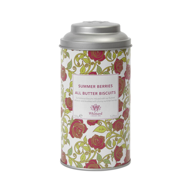 Tea Discoveries Summer Berries All Butter Biscuits