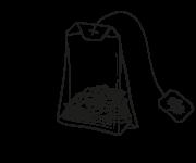 Plastic-free teabag