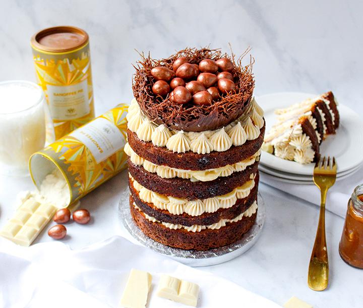 Banoffee Nest Cake