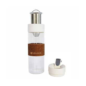 White Brumi Hot and Cold Brew Bottle