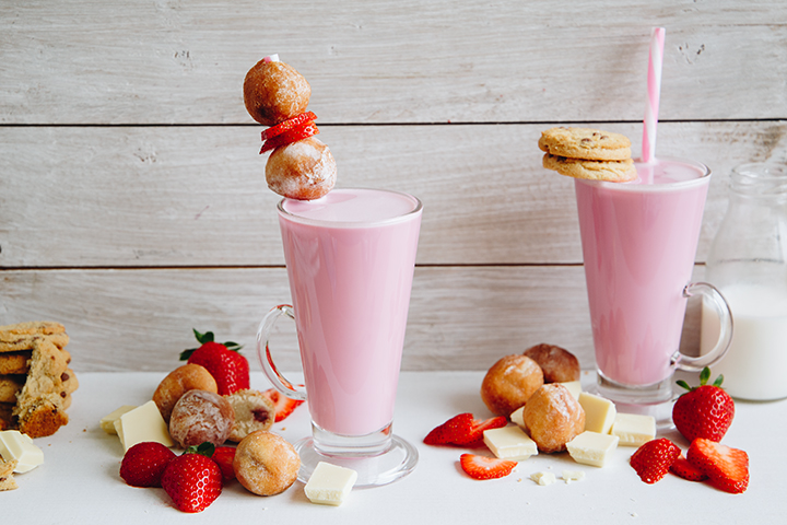 Strawberry Hot Chcoclate