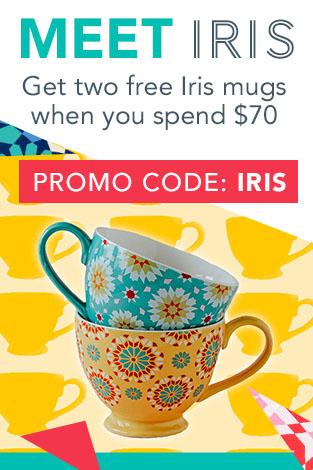 Free Iris Mugs