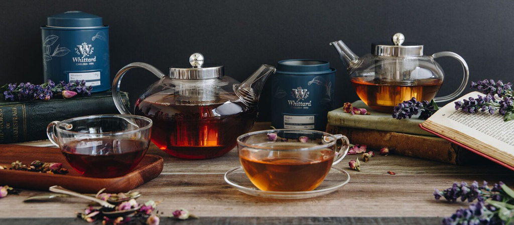 glass teapot with warmer bruin blog. Black Bedroom Furniture Sets. Home Design Ideas