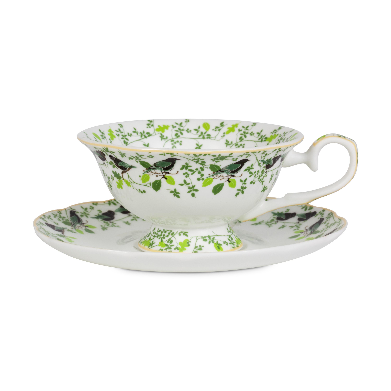 English Breakfast Tea Cup Saucer Whittard Of Chelsea