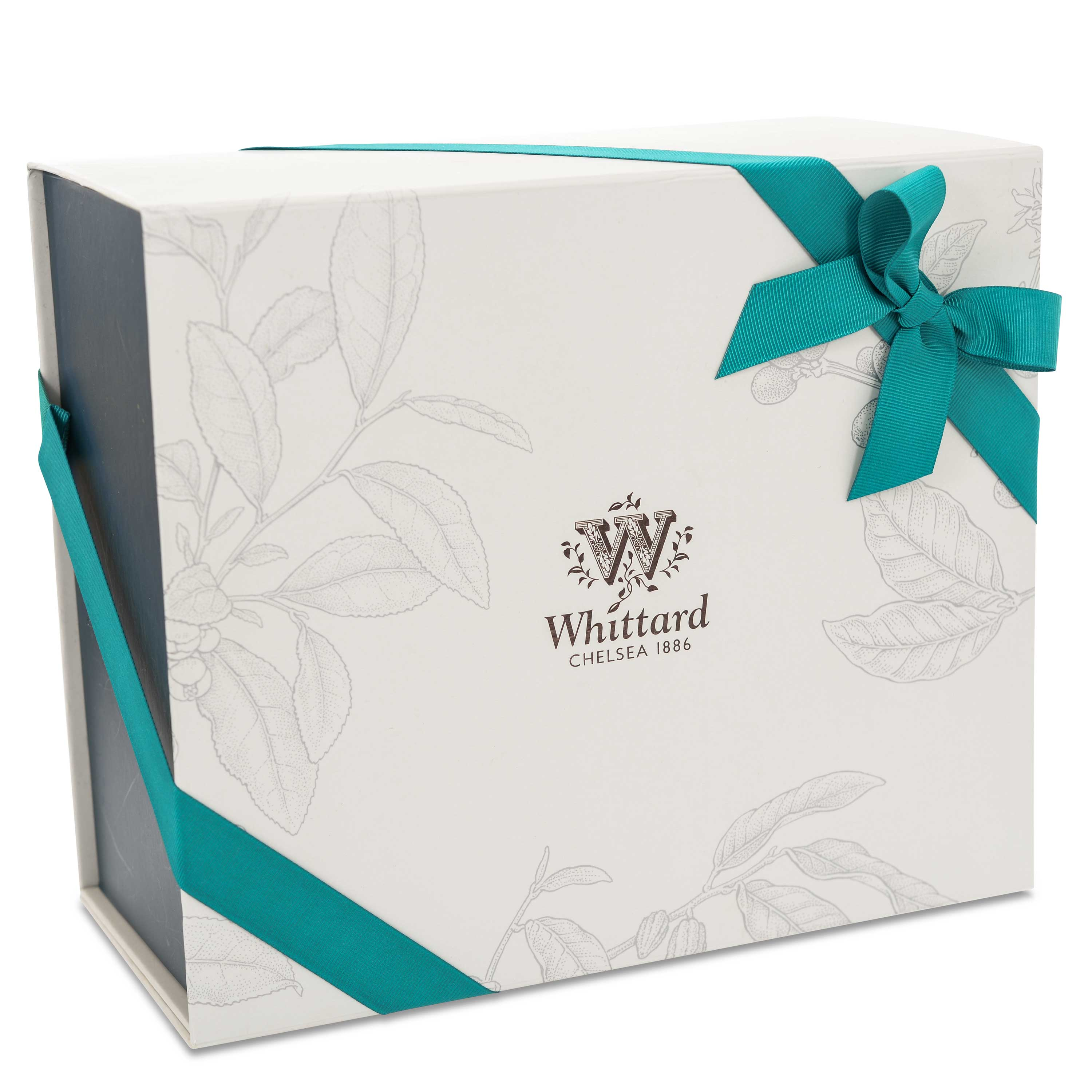 Fab Four Chocolate Gift Box Whittard Of Chelsea Small With Ribbon